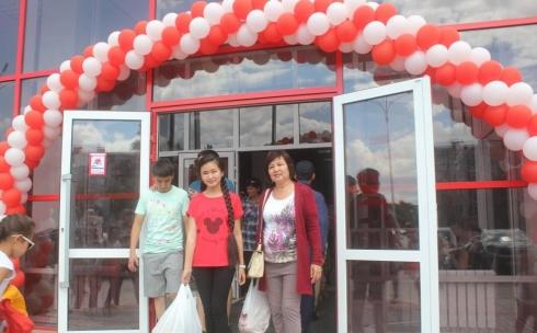 В Караганде состоялось открытие нового супермаркета