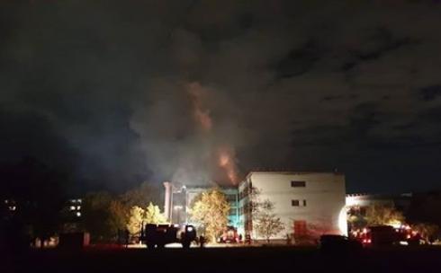 Установлена предварительная причина пожара в школе Караганды