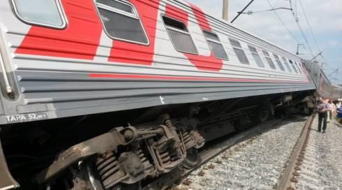 В Караганде пассажирский поезд сошел с рельсов