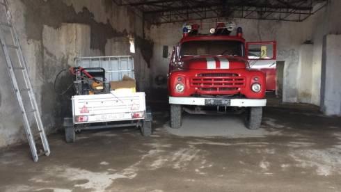 Пожарный пост открыли в Жанааркинском районе