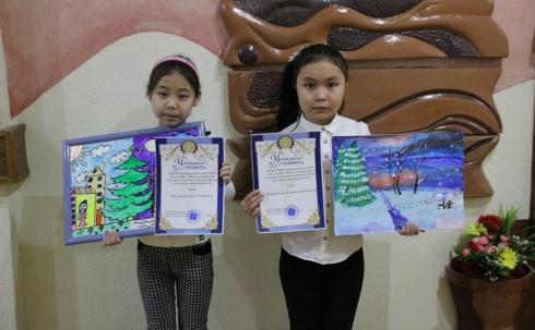 Подведены итоги детского конкурса рисунков «Первый день зимы»