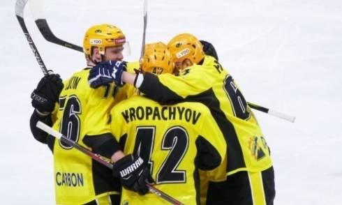 «Сухарь» напоследок. «Сарыарка» обыграла «Рубин» в матче ВХЛ