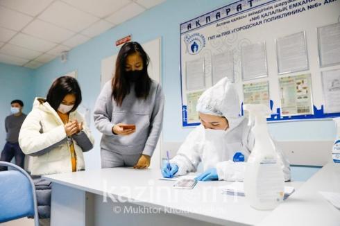 Сколько казахстанцев получили вакцину против коронавируса в Казахстане