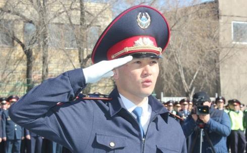 50 молодых сотрудников полиции приняли присягу в Караганде