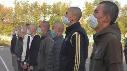 Карагандинские новобранцы пополнили ряды Вооружённых сил РК