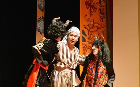 В театре детей и юношества Темиртау состоялась премьера сказки