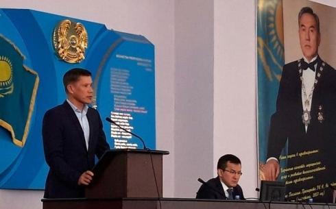 Медики Карагандинской области поддержали выдвижение кандидатуры на выборы Президента страны от партии Nur Otan