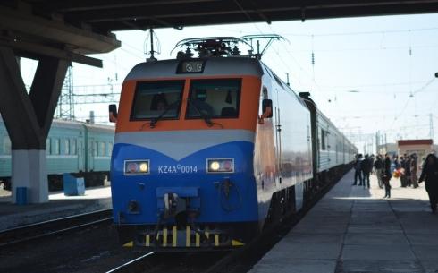 ҚТЖ вводит дополнительный скорый поезд Астана - Алматы