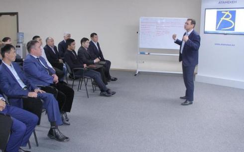 Предпринимателей обучают по проекту «Бастау» в Караганде