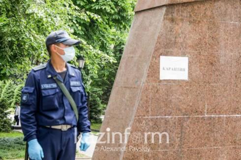 Режим локдауна вступил в силу в Казахстане