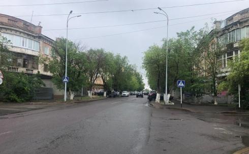 В Караганде на перекрёстке Ерубаева-Жамбыла появились знаки «Пешеходный переход»