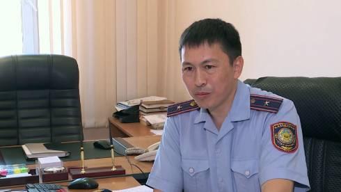 Полицейский спас рыбака в Караганде