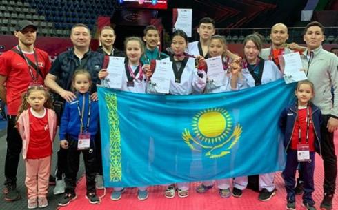 Карагандинские спортсмены выиграли восемь наград по олимпийскому виду таеквондо WTF