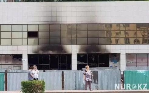 Задержали второго подозреваемого в поджоге мебельного магазина в Караганде