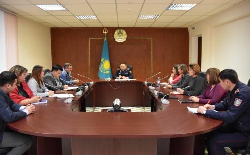 Департамент полиции Карагандинской области будет тесно сотрудничать с волонтерами