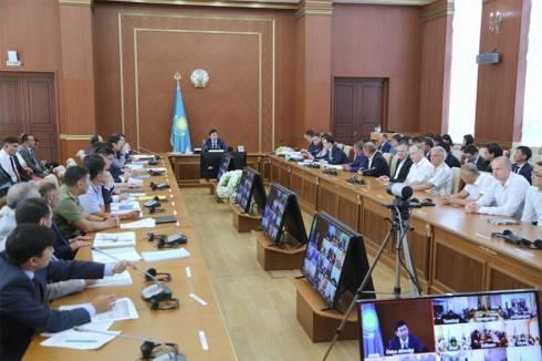 Первое заседание пилотного проекта «Единый день отчёта» состоялось в Караганде
