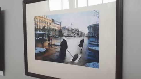 Выставка, посвящённая блокадному Ленинграду, проходит в Темиртау
