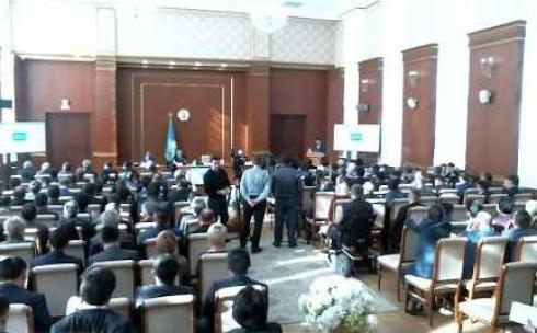 Сессия в Карагандинском областном маслихате. ONLINE-трансляция
