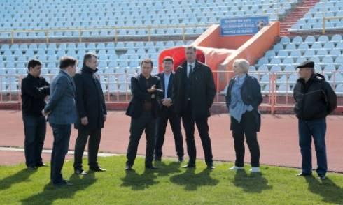 Генеральный секретарь КФФ посетил Караганду