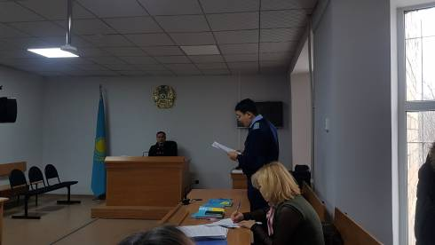 Прокурор попросил суд лишить свободы обвиняемых по делу о перевернувшемся батуте в Караганде