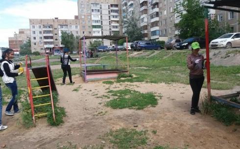 В 2018 году 50 дворов будут благоустроены в Октябрьском районе Караганды. Список