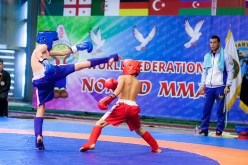 Чемпионат мира «Алтын Бала» среди детей по смешанным единоборствам прошел в Караганде
