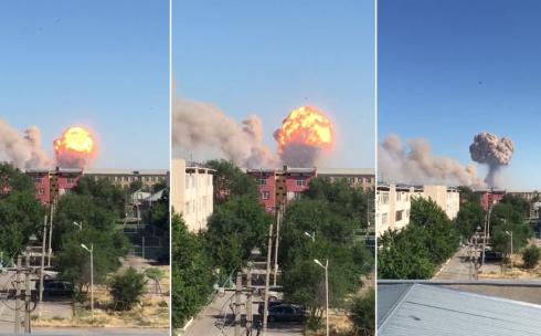 После взрыва в Арыси в ДЧС Карагандинской области начал работать телефон «горячей линии»