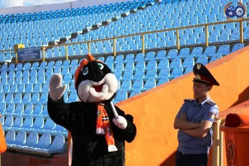 Фоторепортаж с матча Премьер-Лиги «Шахтер» — «Окжетпес» 1:0