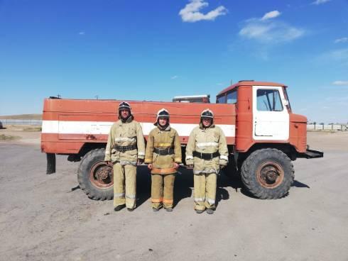 В Карагандинской области открыт четырнадцатый по счету пожарный пост