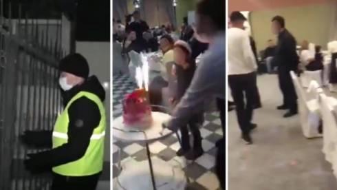 Полицейские накрыли свадьбу во время карантина в Караганде