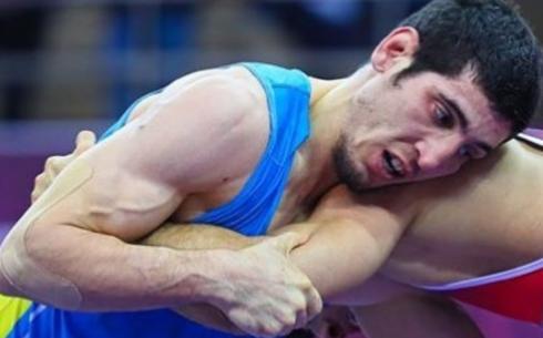 Карагандинский борец Ибрагим Магомадов стал серебряным призером чемпионата Азии