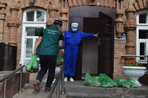 Три тысячи семей получили продукты на Курбан айт в Карагандинской области