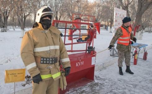 У военнослужащих Карагандинской области начался новый учебный год