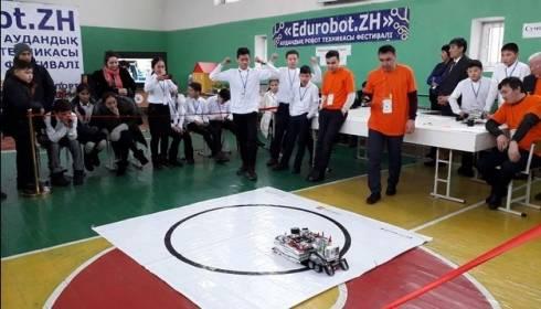 Проекты в области Smart city создают сельские школьники в Карагандинской области