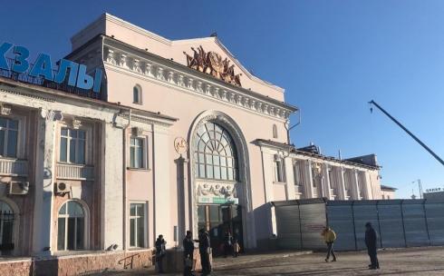 В Караганде на время закроют здание ж/д вокзала