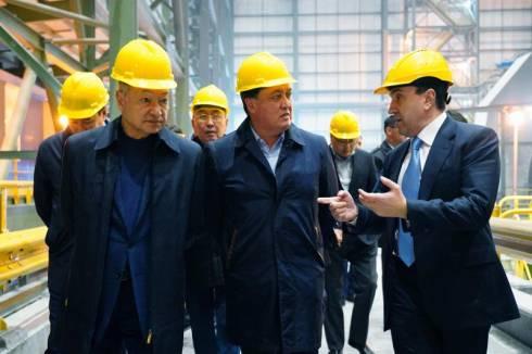 Аскар Мамин проинспектировал ход реализации в регионах крупных инфраструктурных проектов