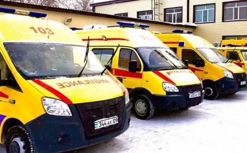 В Карагандинской области из-за непогоды бригады скорой помощи стали дольше добираться к пациентам