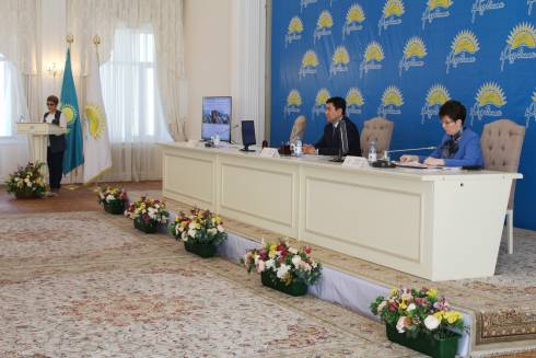 В Караганде состоялась внеочередная XXVII конференция Карагандинского областного филиала партии «Нұр Отан»