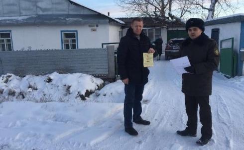 Практические мероприятия проводятся с жильцами частного сектора Караганды