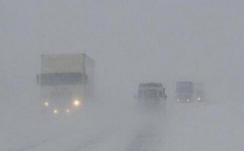 Закрыто движение по всем направлениям в Карагандинской области