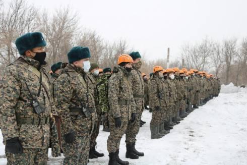 В воинской части 52859 проведено тактико-специальное учение «КӨКТЕМ-2021»
