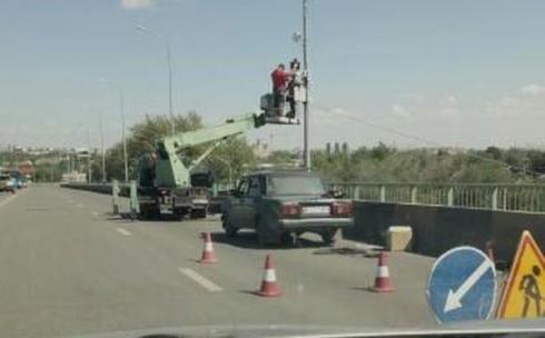 На путепроводе ДСК в Караганде не устанавливали скоростемер
