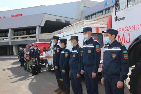 В Карагандинской области проходят этапы Международного командно-штабного учения «Жер-2021»