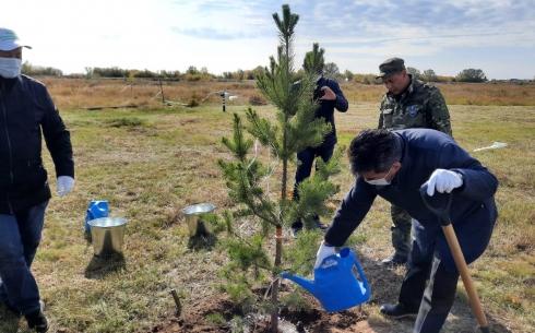 Карагандинская область присоединилась ко Всемирной акции «World clean up day»