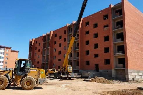 В Балхаше строятся дома для очередников по программе «Нұрлы жер»
