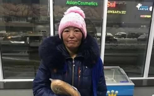 Просящая милостыню в Караганде женщина числится в розыске в Кыргызстане