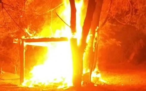 В Караганде военнослужащие предотвратил крупный пожар