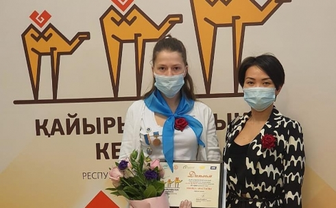 За доброе сердце: юная карагандинка получила медаль «Бала Журегi» в республиканском конкурсе