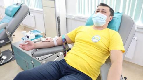 «30 добрых дел»: студенты и преподаватели колледжей Карагандинской области сдали кровь для больных детей