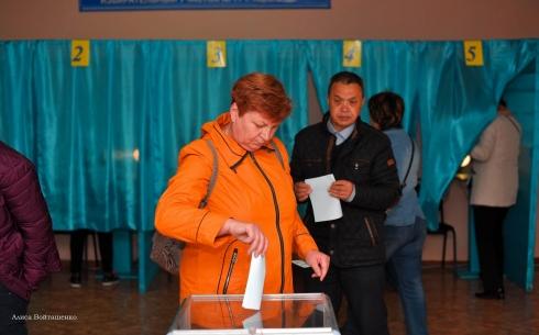 Выборы в Караганде. Фоторепортаж